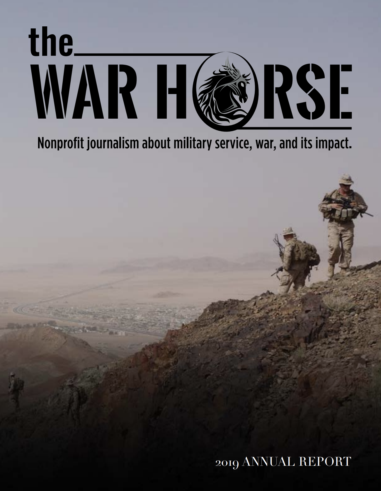 The War Horse 2019 Annual Report Cover