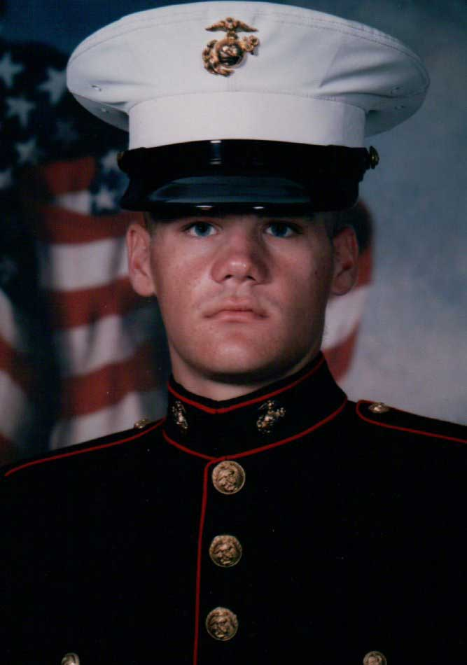 LCpl Devon Seymour, USMC. Killed in Action on June 9, 2005, in Operation Iraqi Freedom. Photo Courtesy of USMC
