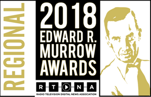 For our Marines United reporting, The War Horse was presented with a Regional Edward R. Murrow Award
