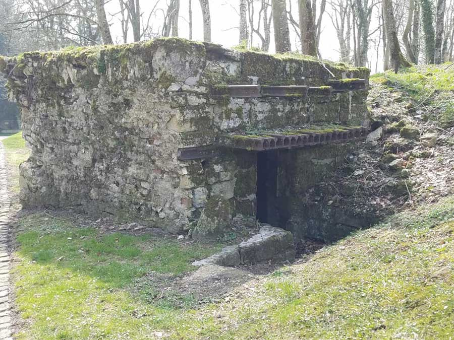 German defenses still stand more than 100 years after WWI. Photo by Joanna Guldin-Noll.