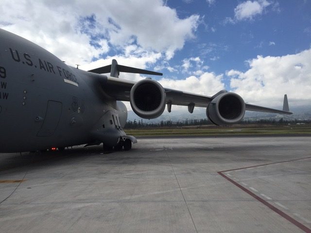 Waiting for cargo at Mariscal Sucre International Airport, Quito, Ecuador, in June 2018. Photo courtesy of the author.