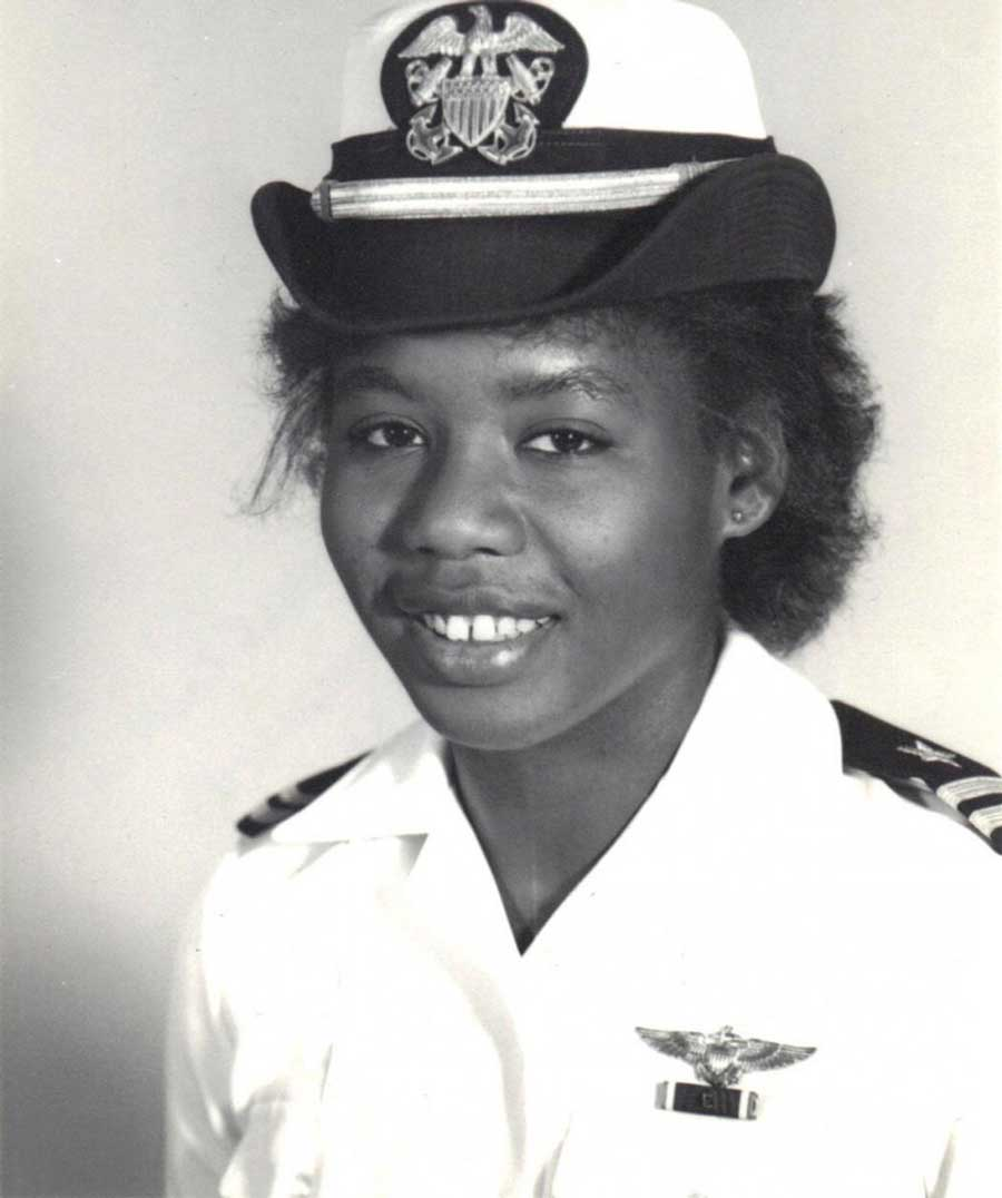 Brenda Robinson was the first Black female Navy pilot, and she also flew during Desert Storm.