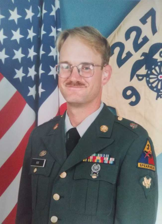 Dave Boe in an official Army portrait taken after Desert Storm. Photo courtesy of the author.
