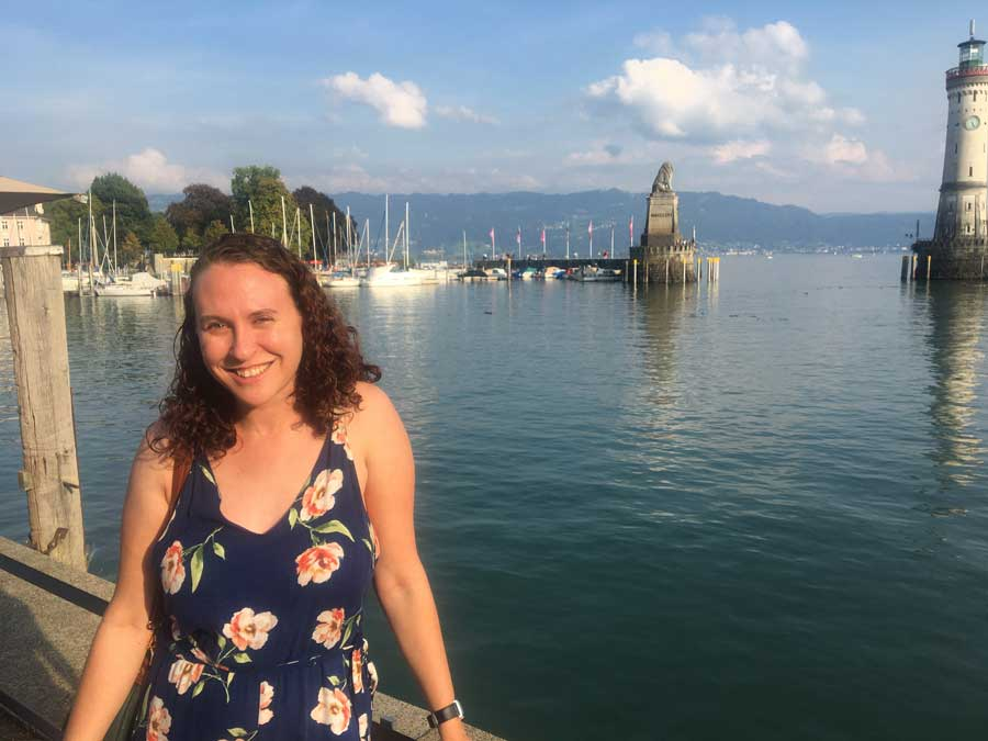Vivienne Machi visits Lindau, Germany, as part of a military-sponsored marriage retreat in the fall of 2020. Photo courtesy of the author.
