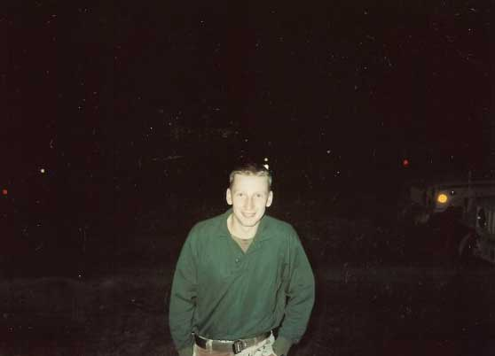 Anthony Hardie poses for a photo 30 years ago during Operation Desert Storm. Photo courtesy of Anthony Hardie.