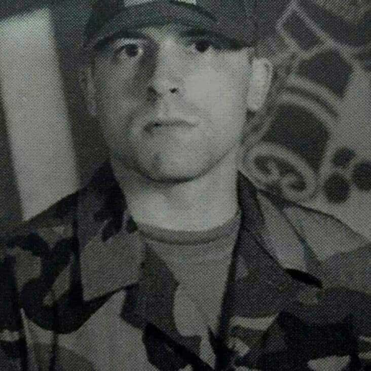 The author in his military days. Photo courtesy of the author.