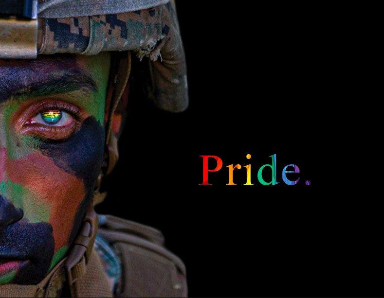 Marine Corps graphic celebrates Pride Month