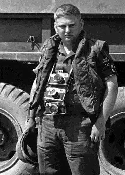 Marvin J. Wolf In Vietnam. Photo courtesy of the author.