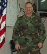 Reed Bonadonna on the USS Bataan as he heads to Kuwait in 2003. Photo courtesy of the author.