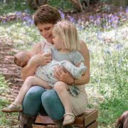 Anne Boaden, her daughter, and her son in May. Photo courtesy of the author.
