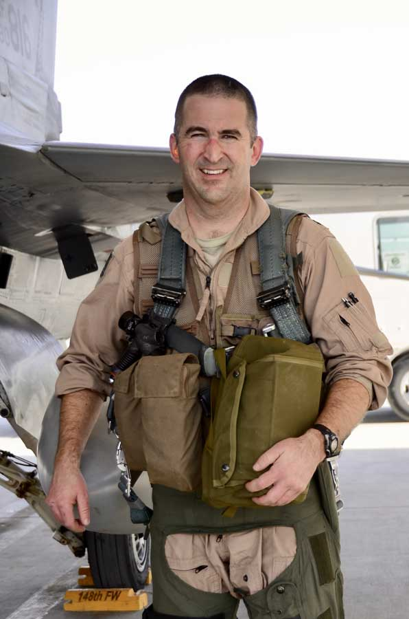 Eric Chandler in Afghanistan in September 2012. Photo by Chris Axelson, courtesy of the author.