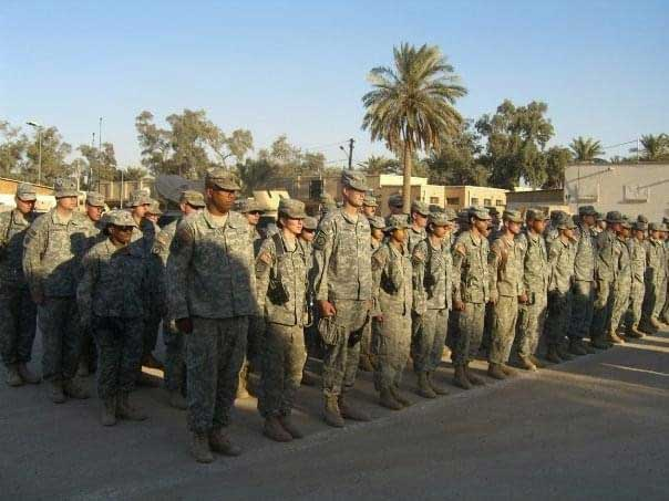 The Dirty 630th—630th Military Police Company—at Forward Operating Base Shield in Baghdad in early 2007.